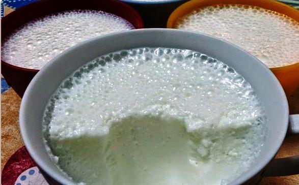 Молочный десерт для детей фото