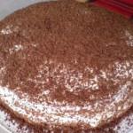 Классический сметанный торт фото