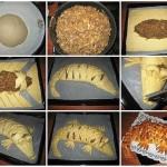 Мясной пирог «Крокодил»