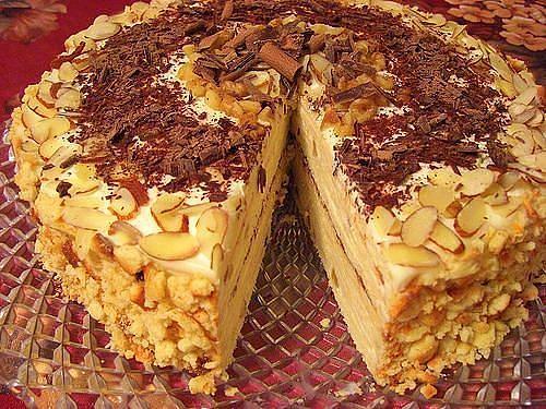 """Творожный торт """"Минутка"""" фото"""