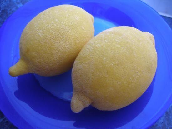 Замороженные лимоны фото