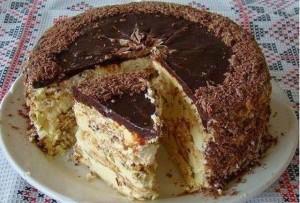 Торт «Киевский». Оригинальный советский рецепт