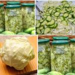 Салат из молодой капусты с огурцами и луком