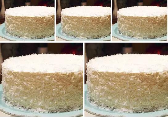 Сметанный торт со взбитыми сливками фото 5