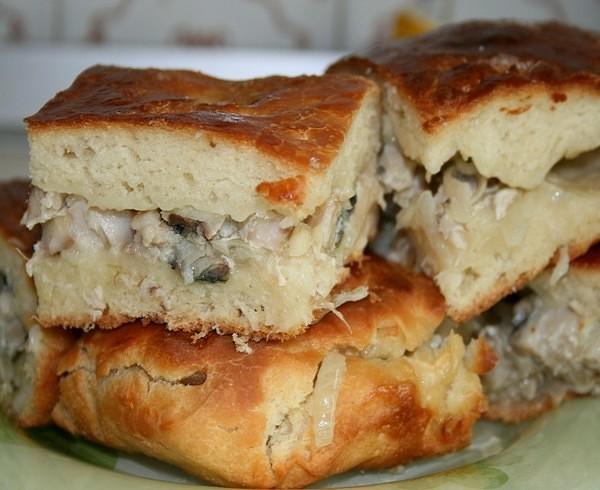 пироги скумбрией рецепты фото