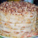 Творожный торт на сковороде