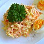 Французский салат с морковью и сыром — готовьте побольше!
