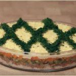 Простой и вкусный салат «Заботливая жена»
