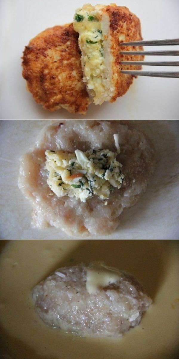 """Котлеты """"Птичье молоко"""", приготовленные по этому рецепту, получаются очень вкусными, ароматными и невероятно нежными."""