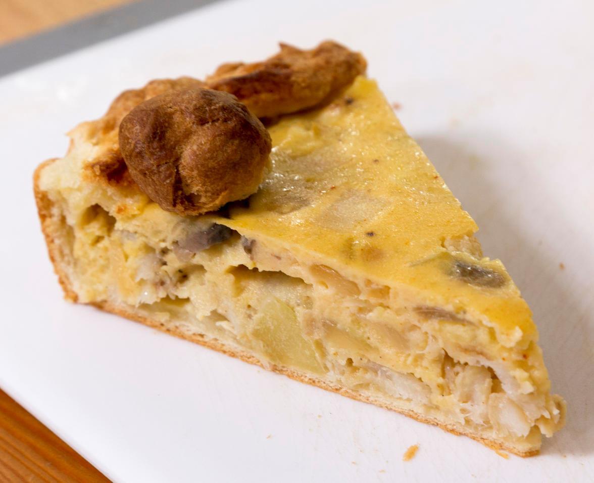 Луковый пирог из минтая. Суперпросто, мегавкусно!