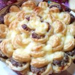 Пирог с мясом и сыром. Улетный просто! ВСЕГДА удачный!