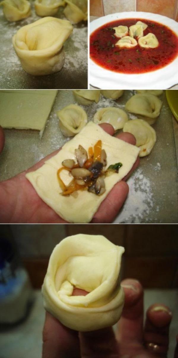 Грибные ушки для борща и других супчиков. Невероятная вкуснятина! Рецепт на скорую и занятую руку!