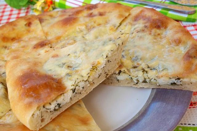 Хачапури с адыгейским сыром — ВКУСНЯТИНА НЕРЕАЛЬНАЯ!