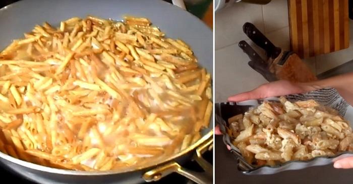 Жареные макароны по-армянски: изящный способ приготовления. Вот это рецепт! Находка!