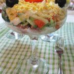 Праздничный салат с тунцом! Вкус – потрясающий, готовка – моментальная!