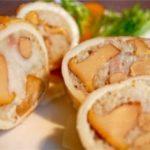 Кальмары, фаршированные маринованными грибами и рисом делаю на все торжества. Рецепт, можно сказать, фирменный, семейный. Закуска на все случаи!