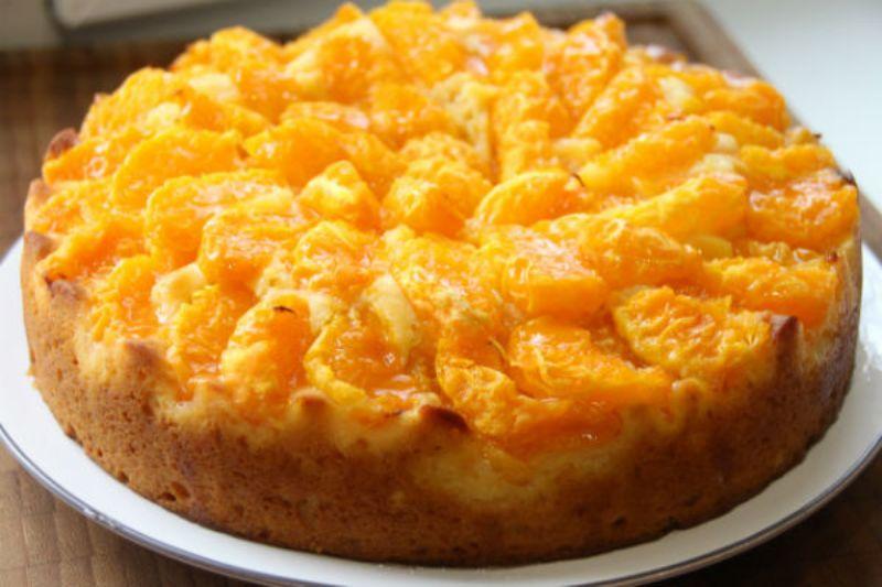 Мандариновый пирог. Воздушный и очень вкусный