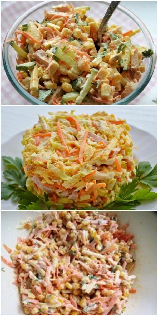Этот салат переплюнул уже «Шубу» и «Оливье»