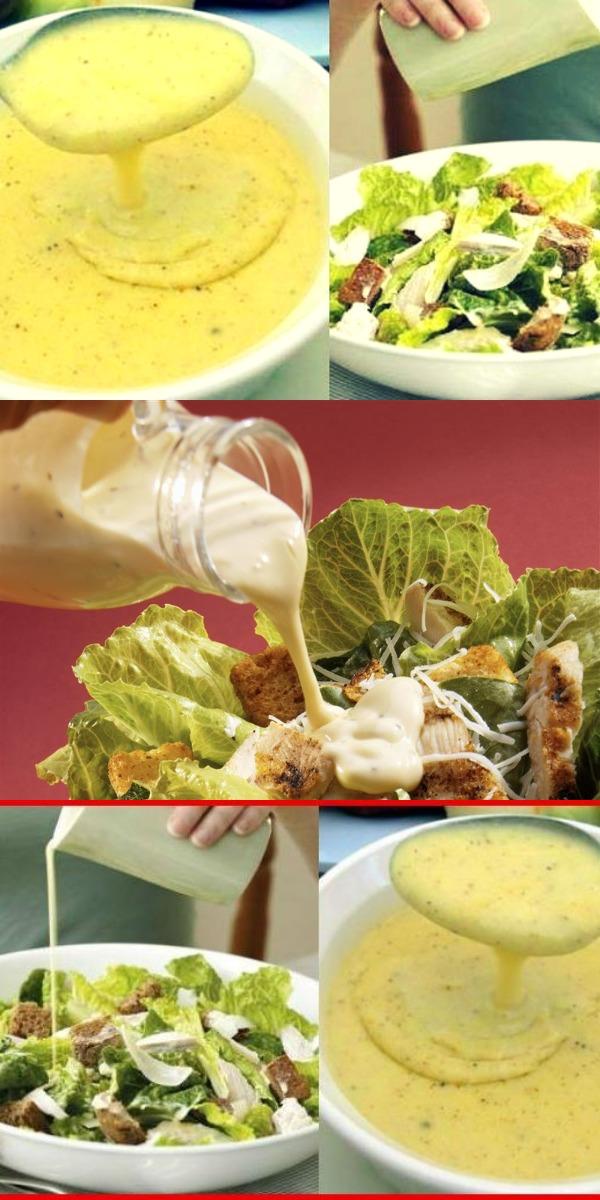 Пять вкусных соусов к салату. Главное в салате — это… СОУС!