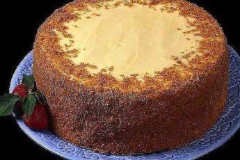 Очень простой и необычный рецепт вкусного торта. Приготовить сможет любой. Попробуйте обязательно!