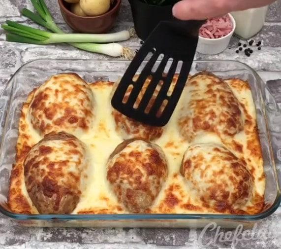 Картофельный сюрприз: обалденный ужин для всей семьи