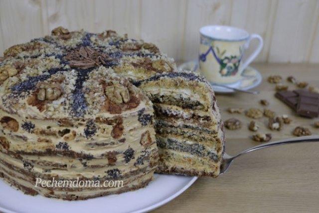 Этот торт не надоест никогда! Торт «Дамский каприз» делаю на каждый день рождения дочки - обалденный тортик. Попробуйте - будете делать только так.