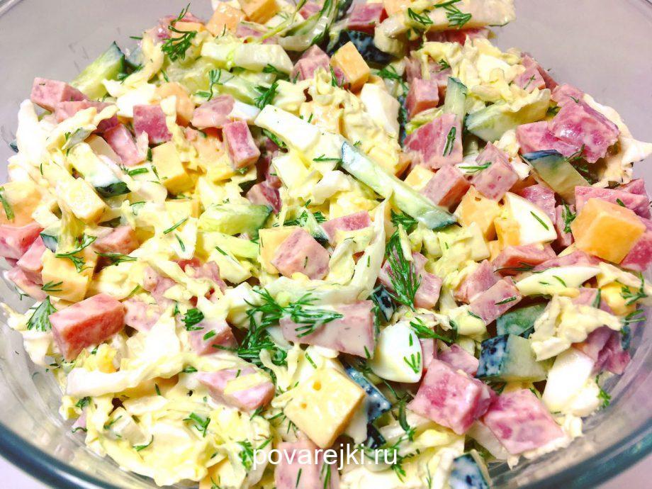 Любимый салатик! Идеально подходит для праздничного стола