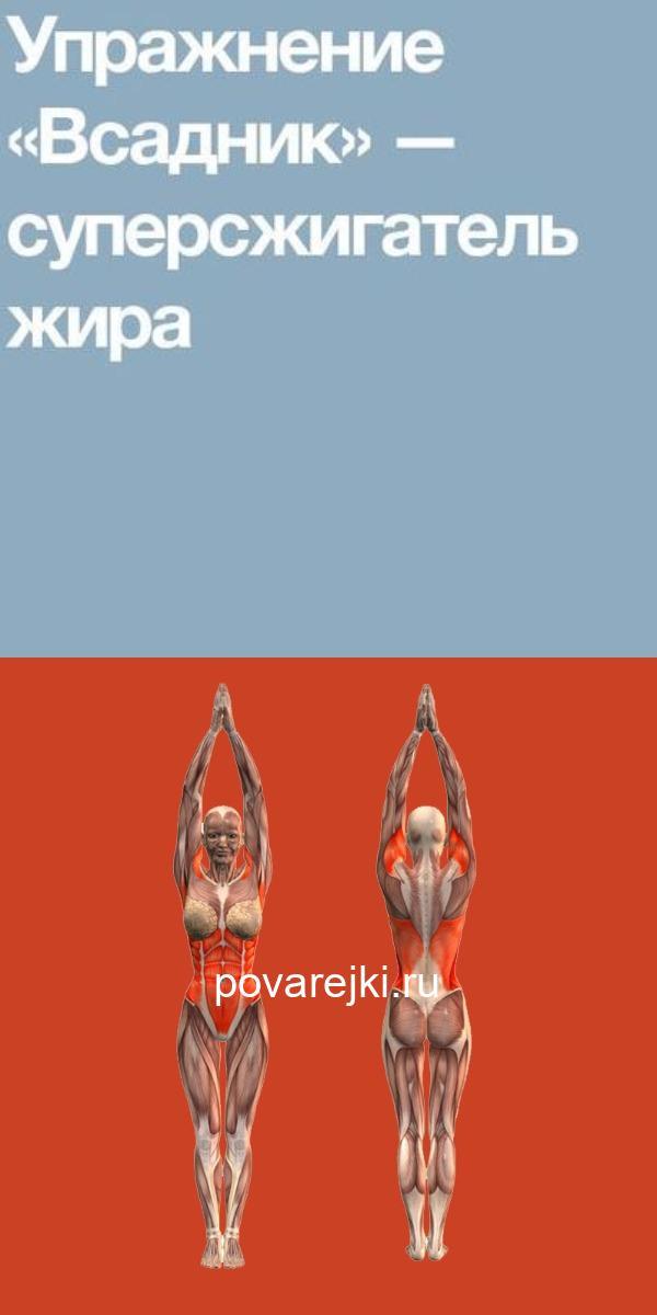 Упражнение «Всадник» — суперсжигатель жира