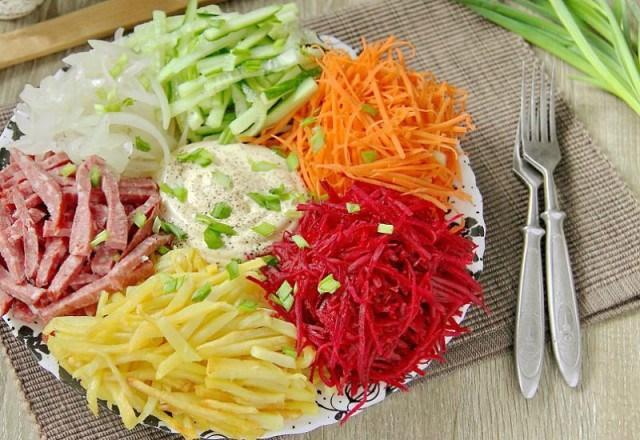 Восхитительный салат «Огоньки»