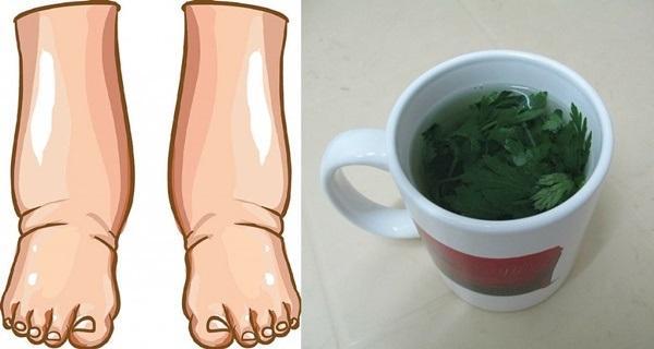 Самое мощное природное средство для лечения отека ног!
