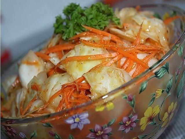 Рецепт маринованной капусты по-корейски — ЕШЬ ХОТЬ НА НОЧЬ, ХОТЬ КАЖДЫЙ ДЕНЬ!