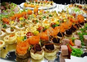 рецепты канапэ на шпажках фото