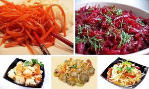 Блюда по - корейски фото