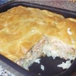 Рыбный пирог рецепт фото