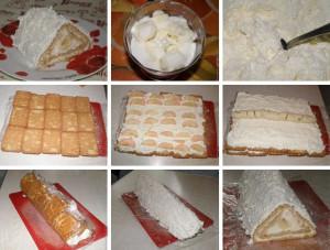 Творожный пирог без выпечки фото