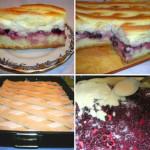 Дрожжевой пирог с ягодами