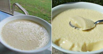 Воздушный крем-десерт за 5 минут