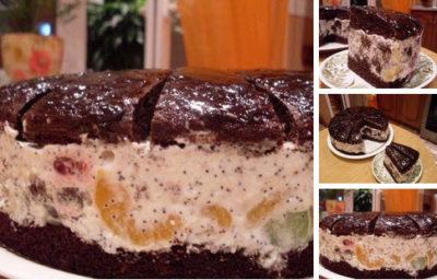 """Торт """"Африканская ромашка"""""""