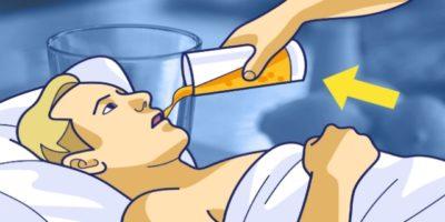 Напиток, который помогает бороться с храпом в ночное время!