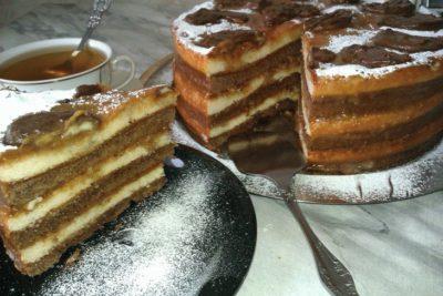 Ленивый торт за полчаса