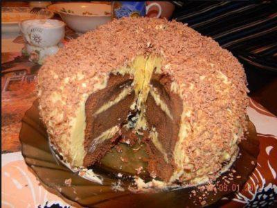 Торт «Лентяй»
