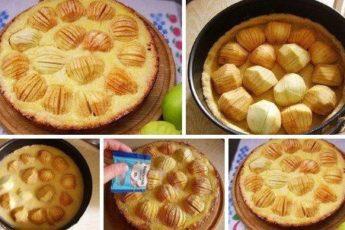 """Яблочный пирог """"Обалденный"""""""
