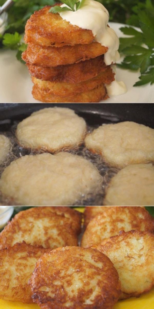 Лучший рецепт Картофельных Драников. Невероятно вкусные и ароматные с золотистой корочкой!
