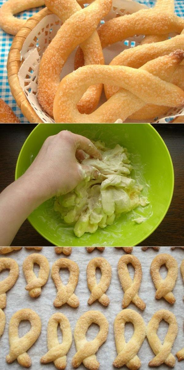 Печенье Торчетти — быстрo и легкo.