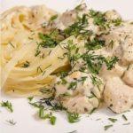 Куриное филе с грибами в сливочно-сырном соусе! Результат превосходит все ожидания!