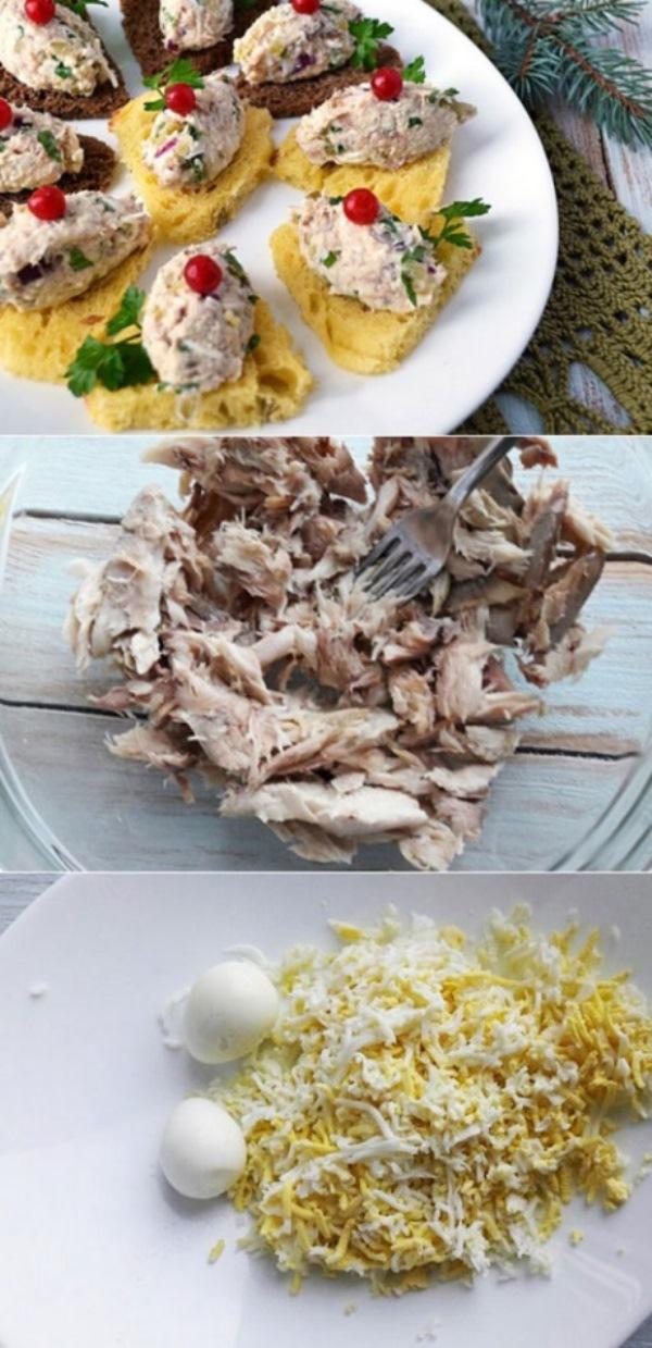 Паштет из скумбрии горячего копчения готовлю уже несколько лет. Невероятная вкуснятина! Рецепт на скорую и занятую руку!