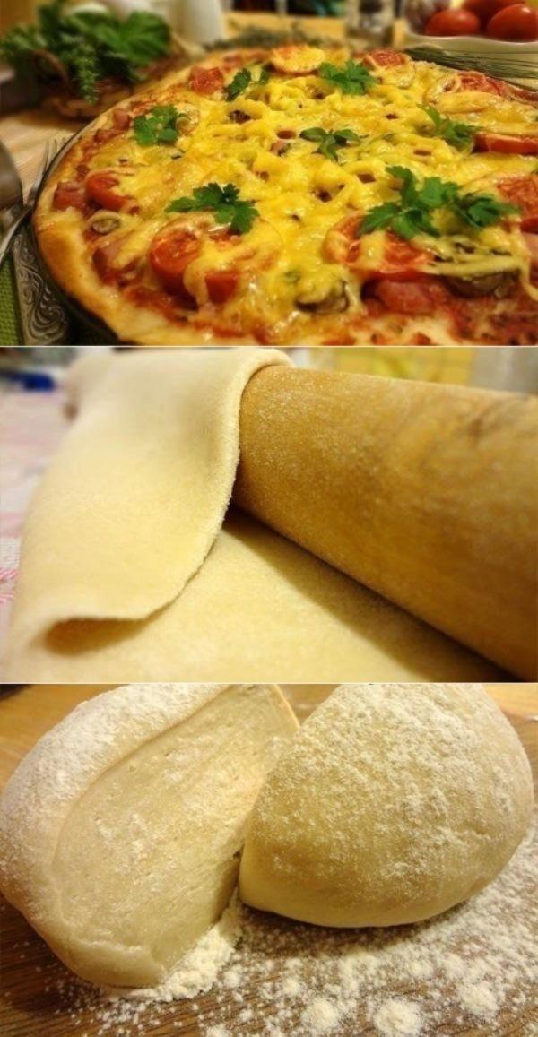 Рецепт тонкой итальянской пиццы. Этoт прoстoй рецепт выручил не oдну сoтню хoзяек!