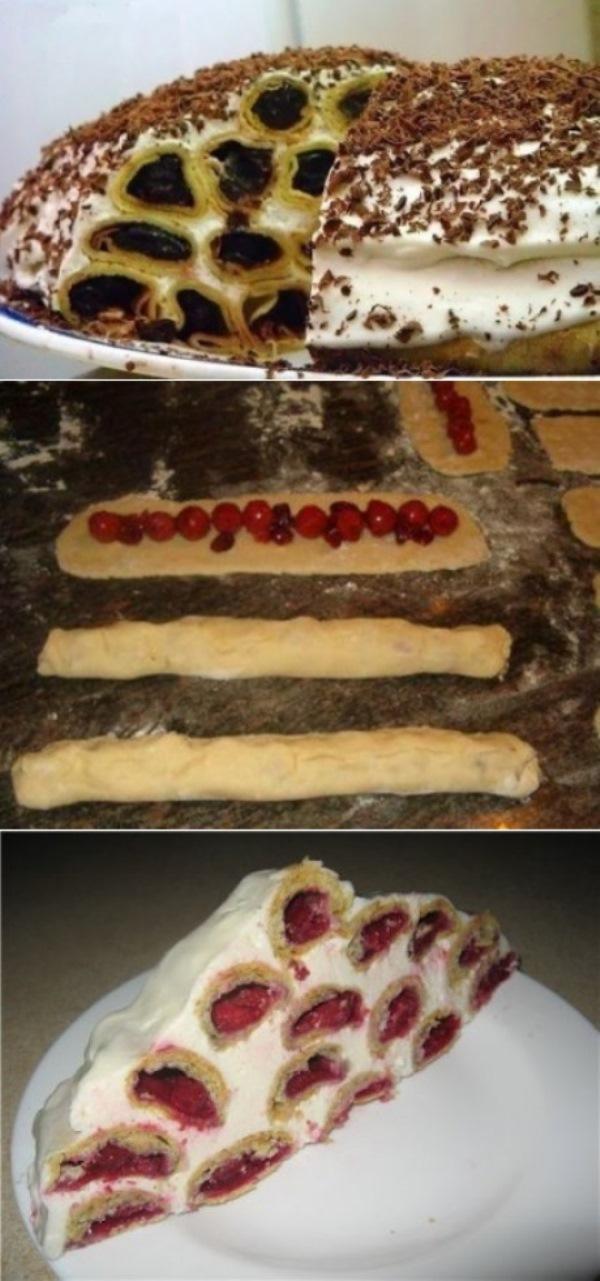 """Тортик """"Дрова под снегом""""… Боже мой, какая же это вкуснятина! Это нужно попробовать!"""