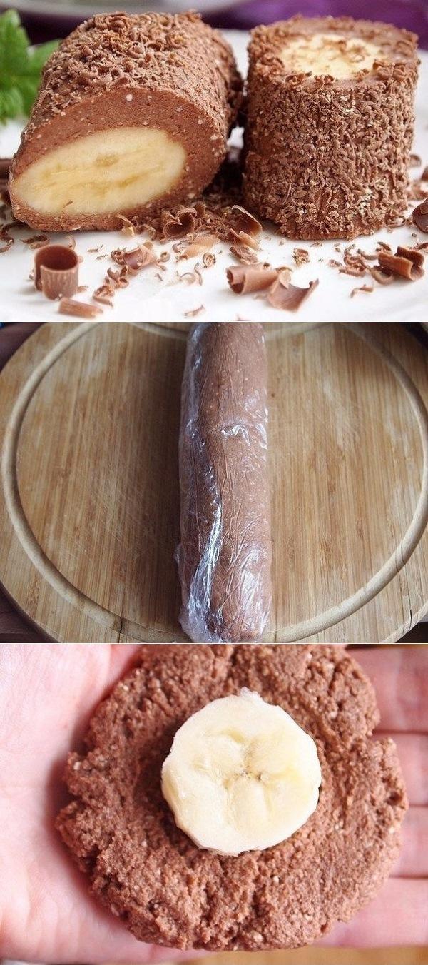 Творожно-шоколадный десерт с бананом — это отличный вариант для «ленивых» или для тех, у кого не хватает времени на готовку, а хочется чего-нибудь очень вкусненького, причем побыстрее!