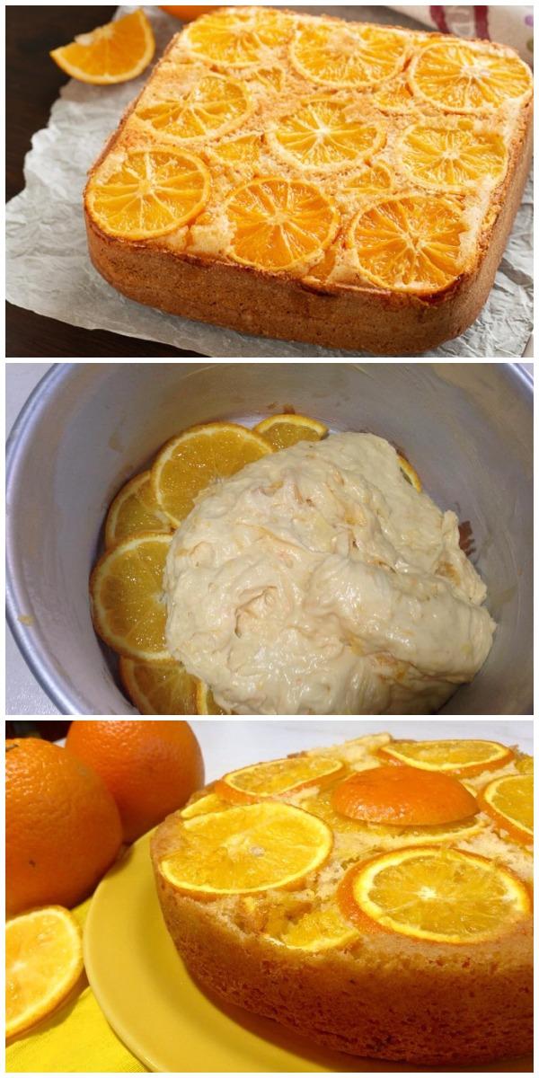 Апельсиновый пирог! Устоять невозможно!
